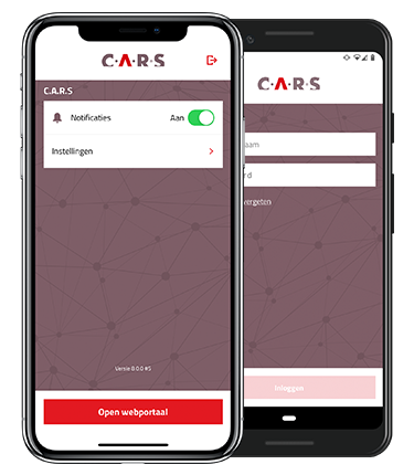Android en iOS app CARS YP